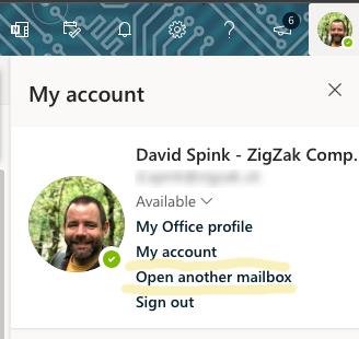 Microsoft 365 Profile options